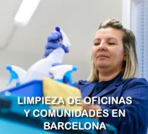 Limpieza de oficinas y comunidades en barcelona